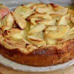 Clafoutis Léger aux pommes et à la cannelle