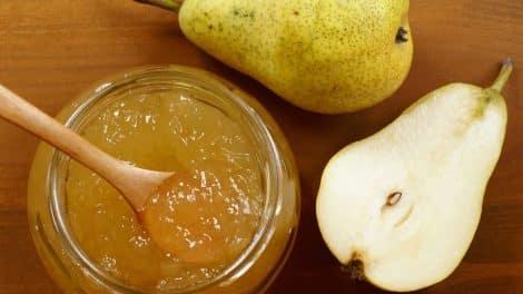 Confiture de poires au gingembre au Thermomix