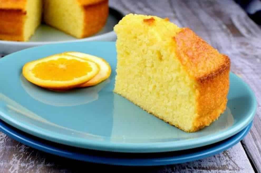 Gâteau Léger à l'orange sans beurre, un dessert moelleux et gourmand