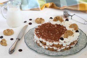 Gâteau perce-neige au cœur de nutella