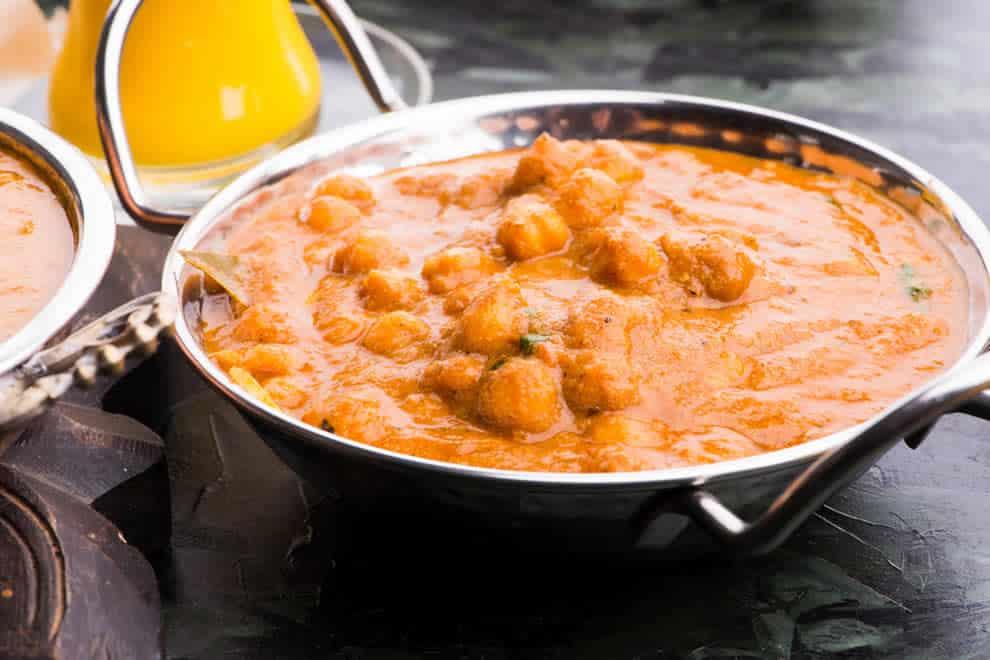 Pois chiche au curry, prêt en 30 minutes