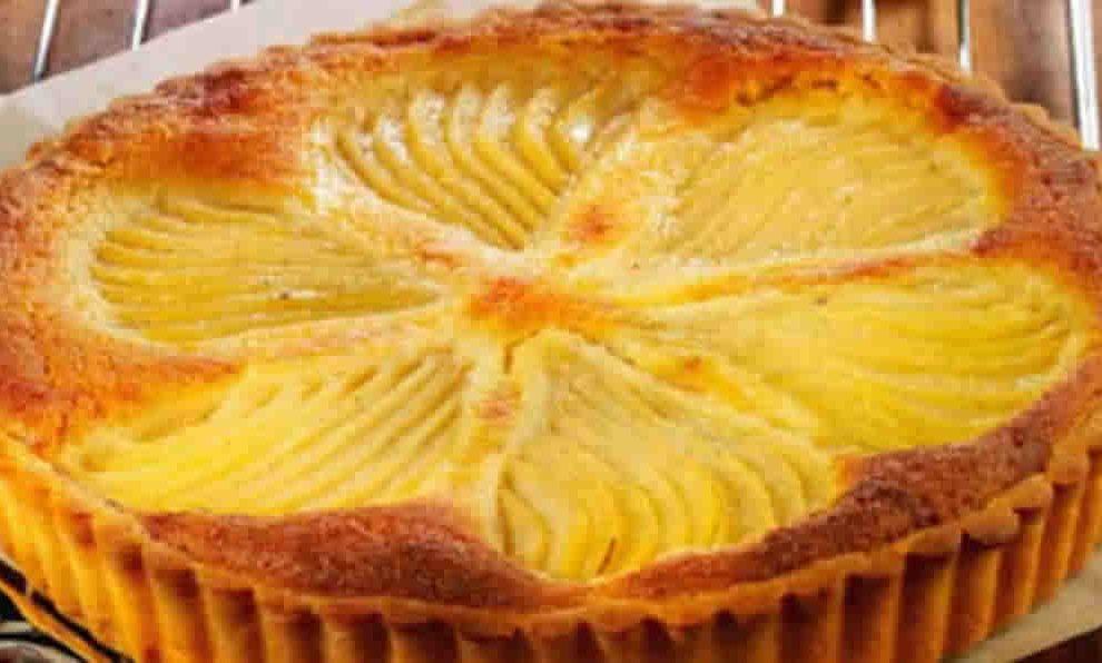 Tarte Bourdaloue aux poires et crème d'amande au Thermomix