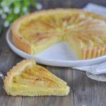 Tarte Légère aux poires et au citron