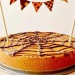 Cheesecake d'Halloween au potiron